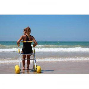 Anador especial para la playa